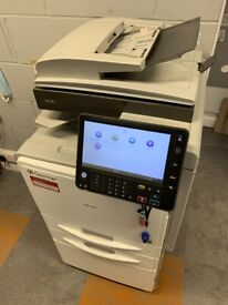 Ricoh MPC401 Printer, Scanner, Copier, Fax - all in one floor mounted