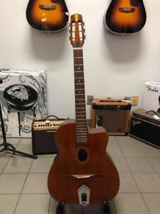 Saga JAPAN DG200 Electric Django Jazz Guitar 1980s MANOUCHE Guitare acoustique/classique/électrique