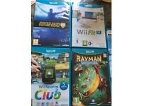 Wii U Console and 6 games worth £550
