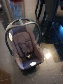 Hardly used car seat £12