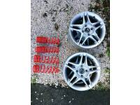 Honda accord alloy wheels and lowering springs