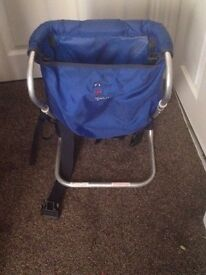 Baby Carrier - Blue (Excellent Condition)
