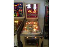 Vintage US 1970's pinball machine