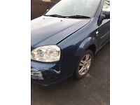 08 plate Chevrolet lacetti estate