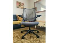 Humanscale Liberty Grey Ergonomic Mesh Office Desk Chair RRP £729.00