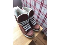 River Island trainers, women's size 4.