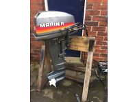 Mariner 15hp Long Shaft Outboard Electric Start With Remotes