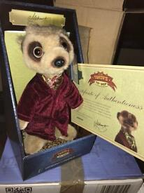 11 x meerkat toys all BNIB with certificates