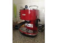 De'Longhi Icona Vintage Traditional Pump Espresso Coffee Machine