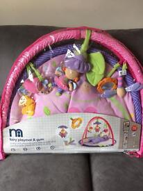 """Baby girls """"fairy playmat & gym """" brand new in packet"""