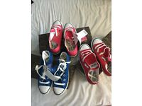 Brand new girls canvas shoes