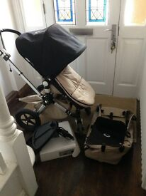 Bugaboo cameleon Push Chair and carry cot used with lots of life yet!!