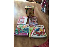 ELC toys girls kitchen set and VTech baby toys