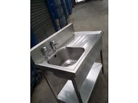 SOLID Stainless Steel Sink Catering Commercial Sink 07581355131