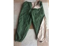 British Army issue thermal trousers (softies)