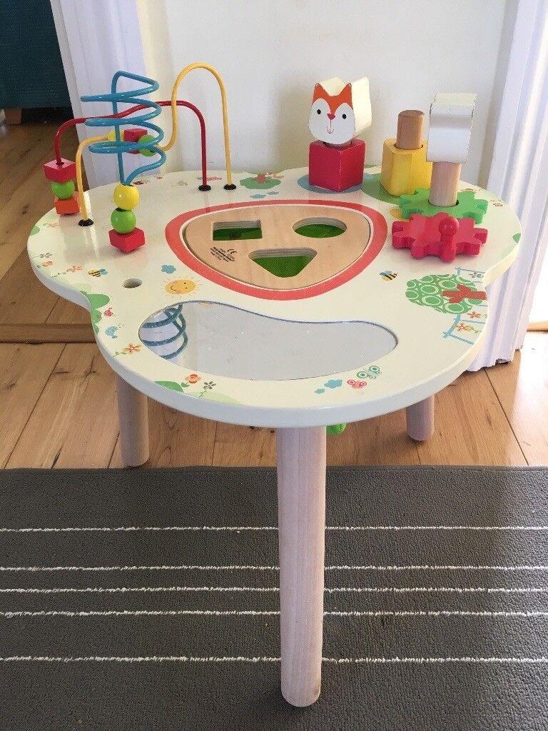 ELC Wooden Activity Table