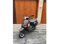 MATTE BLACK VESPA ET4 125cc ONLY £699