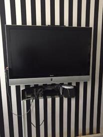 "47"" Baird Freeview tv with stand and remote"