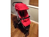 Quinny buzz red buggy