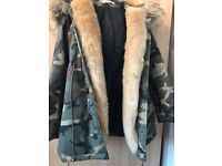 Candylane camouflage parka jacket