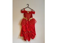 GIRLS AGE 5-6 PRINCESS OUTFITS