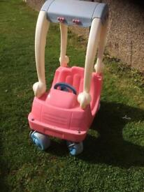 Smoby Pink Princess Cosy Coupe,Roundhay LS8