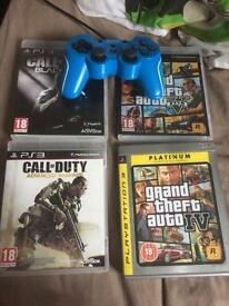 PS3 games with geotech wired controller