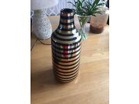 Next black and gold vase brand new