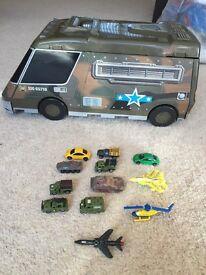 Vintage Army Micro Machine Micromachines