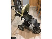 Silver Cross 3 wheel dolls pram/stroller