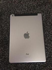 apple ipad air wifi & simcard model o2 (faulty) space grey