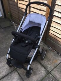 Mamas & and Papas Sola 2 Pushchair Buggy Stroller Black