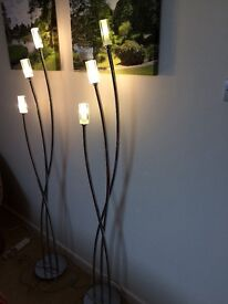 Floor and side table lights