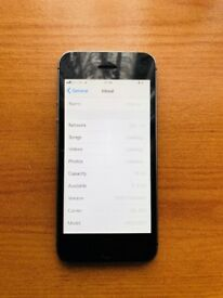 Apple iPhone 5S 16GB Space Gray O2 LOCKED