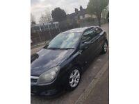 Vauxhall Astra 2006 black 3door £900