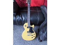 GIBSON LES PAUL SPECIAL EDITION TV YELLOW ELECTRIC GUITAR