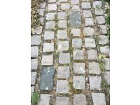 Reclaimed Victorian Granite Setts approx. 700