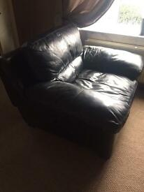 2+1 REAL LEATHER sofa