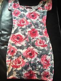 Handmade cotton floral dress Topshop
