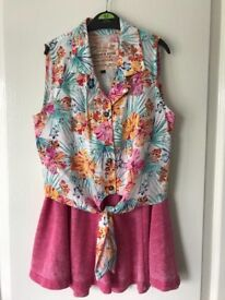 Girl's New Look top & skirt set age 9 yrs