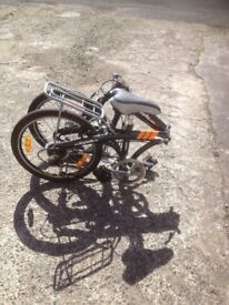 Two FOLDING BIKES for sale both in good condition PRICE reduced