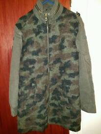 Zara camouflage Coat