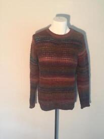 2x TOPMAN thick knit sweater (M)