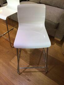 2 x Bar stools good condition