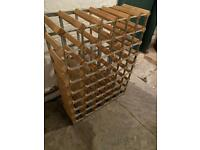 Wine rack wooden 48 bottles