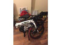 "Ecosmo 20"" Lightweight Alloy Folding Bicycle Bike, 12kg"
