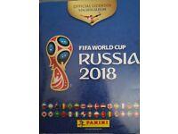 panini Russia world cup football sticker full album