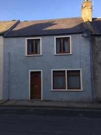 Banff - Two bed unfurnished house with garden and garage in central location