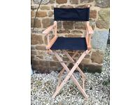 Tall Bar Directors/Captains Chair Stool