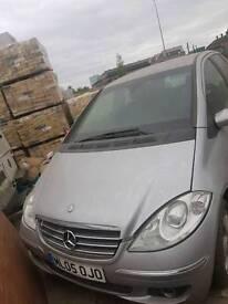 Mercedes-Benz A160 CDI, £375 NO KEYS